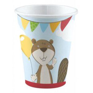 Fox, Róka papír pohár 8 db-os 250 ml