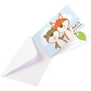 Fox, Róka Meghívó 8 db-os