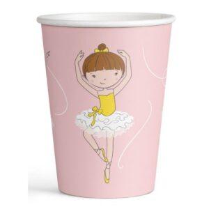 Little Dancer papír pohár 8 db-os 250 ml