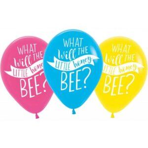 Méhecske léggömb, lufi 6 db-os