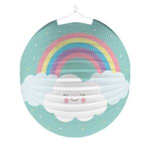 Rainbow and Cloud Lampion 25 cm