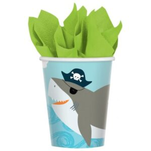 Ahoy Birthday papír pohár 8 db-os 250 ml