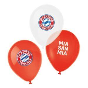 FC Bayern München léggömb, lufi 6 db-os 11 inch (27,5cm)