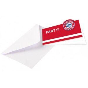 FC Bayern München Meghívó 8 db-os