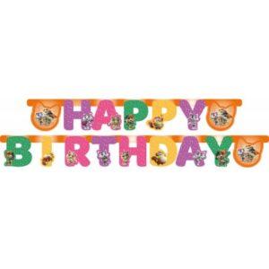 44 Cicus Happy Birthday felirat 250 cm