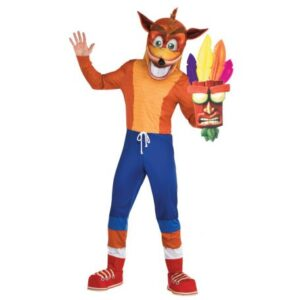 Crash Bandicoot felnőtt jelmez L