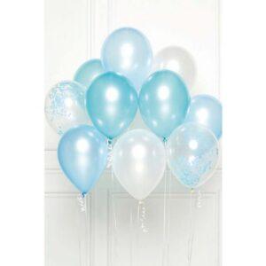 Blue léggömb, lufi 10 db-os szett