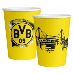 Borussia Dortmund papír pohár 8 db-os 250 ml