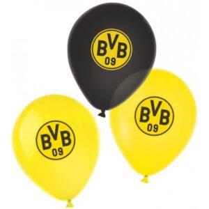 Borussia Dortmund léggömb, lufi 6 db-os 27,5 cm