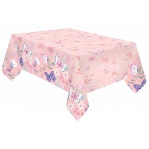 Flutter, Pillangó asztalterítő 120*180 cm