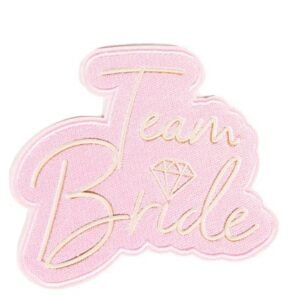 Bride To Be vasalható textil matrica 6 db-os