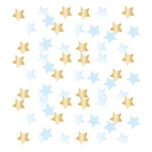 Blue Ombre Első születésnap konfetti