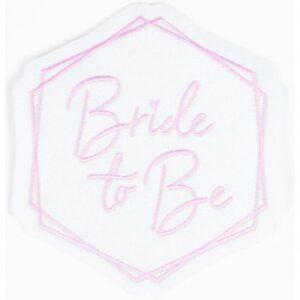 Bride To Be vasalható textil matrica