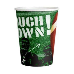 Touchdown! papír pohár 8 db-os 250 ml