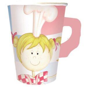Little Cooks papír pohár 8 db-os 266 ml