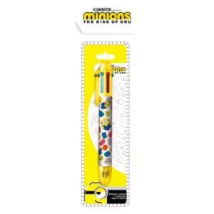 Minyonok 6 színű toll