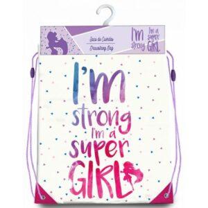 Super Girl sporttáska tornazsák 40 cm