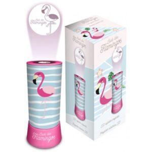 Flamingo 2 az 1-ben kivetítő, lámpa, éjszakai fény