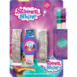 Digitális karóra + színezhető óraszíj szett Shimmer és Shine