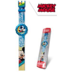 Disney Mickey analóg szövetszíjas karóra dobozban