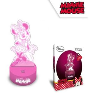 Disney Minnie 2D LED Lámpa