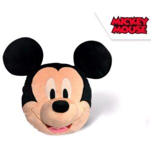 Disney Mickey fej 3D, plüss figura, párna 35 cm