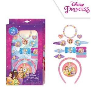 Disney Hercegnők haj kiegészítő szett 14 db-os