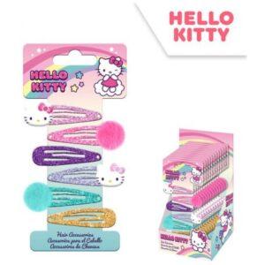 Hello Kitty hajcsat szett 6 db-os
