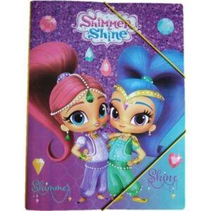 Shimmer és Shine A/4 gumis mappa