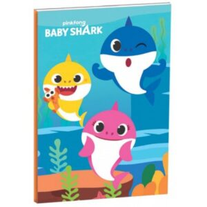 Baby Shark B/5 vonalas füzet 40 lapos