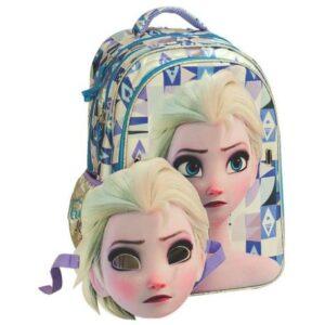 Disney Jégvarázs 3D Iskolatáska, táska 43 cm