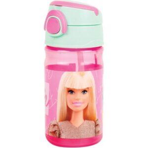 Barbie műanyag kulacs akasztóval 350 ml