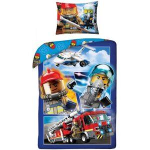 Lego City ágyneműhuzat 140×200cm, 70×90 cm