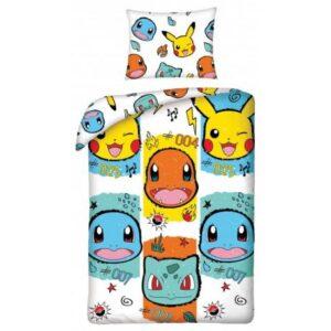 Pokémon ágyneműhuzat 140×200cm, 70×90 cm