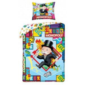 Monopoly ágyneműhuzat 140×200cm, 70×90 cm
