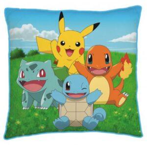 Pokémon párna, díszpárna 40*40 cm