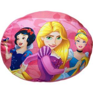 Disney Hercegnők formapárna, díszpárna 32*26 cm