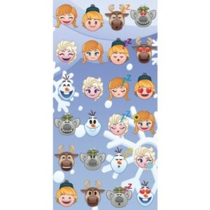 Emoji fürdőlepedő, strand törölköző 70*140cm