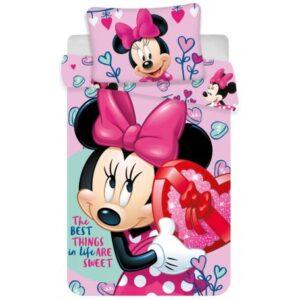Disney Minnie Gyerek ágyneműhuzat 100×135cm, 40×60 cm
