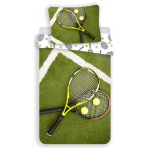 Tenisz ágyneműhuzat 140×200cm, 70×90 cm