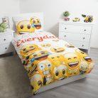 Emoji ágyneműhuzat 140×200cm, 70×90 cm