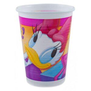 Disney Daisy műanyag pohár 10 db-os 200 ml