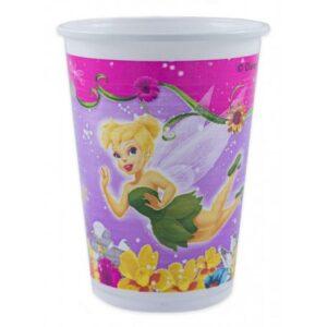 Disney Fairies Springtime, Csingiling műanyag pohár 8 db-os 200 ml