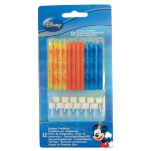 Disney Mickey tortagyertya, gyertya szett 12 db-os