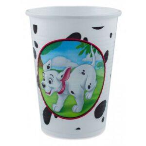 Disney 101 Kiskutya műanyag pohár 8 db-os 200 ml