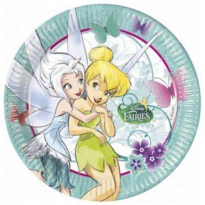 Disney Fairyland Treats, Csingiling Papírtányér 8 db-os 23 cm