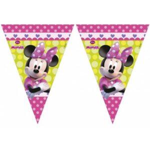Disney Minnie Happy Helpers zászlófüzér 2,3 m