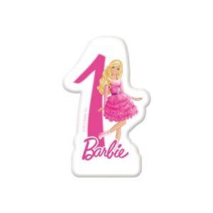 Barbie tortagyertya, számgyertya