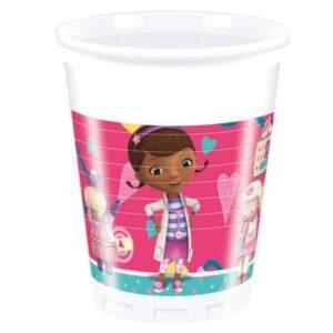 Disney Dr. Plüssi Műanyag pohár 8 db-os 200 ml