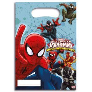 Ultimate Spiderman Web Warriors, Pókember Ajándéktasak 6 db-os